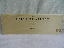 2006  SHAFER HILLSIDE SELECT NAPA VALLEY CABERNET SAUVIGNON WOOD WINE PANEL