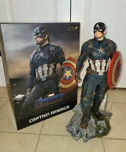 CAPTAIN AMERICA (DELUXE) 1/4 Legacy Replica Statue Iron Studios Avengers Endgame