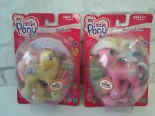 My Little Pony G3 Lot of TWO Toodleloo & Spring Treat 2003 Target Exclusive
