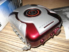 Tevion Cassette Radio  Rot  WM  Tragbarer Sport Player