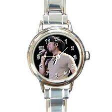 Tim McGraw Round Italian Charm Watch RO41