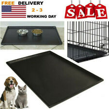 Pet Dog Crate Replacement Pan 42 Inch Plastic Liner Repl Tray Floor Cage Kennel