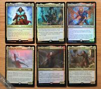 Lot of 6x FOIL Commander 2019 Legendary Creatures *NM+* (Magic MTG EDH)
