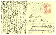 NED  INDIE  1922 PPC SABANG BOEKHANDEL -POSTAGENT - TO GERMANY  VF