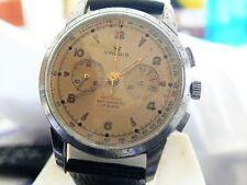 Orologio Cronografo VALOIS Lemania 1215 Omega Chronograph Vintage Original Dial