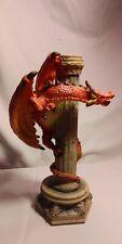 "Dragon candle holder 9.5 "" high"