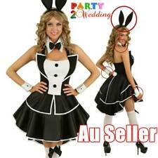 6e119d8a1f 3pcs Playboy Bunny Costume Hens Night Accessories Ears Bow Tie Cuffs Set