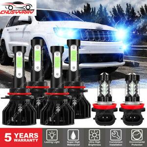For Honda Odyssey 2006 2007 2008 2009 2010 LED Headlight High Lo Fog Light Bulbs