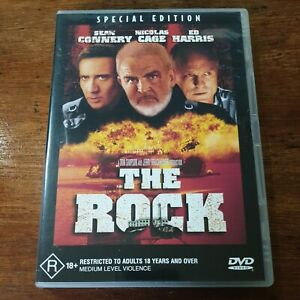 The Rock DVD Sean Connery R4 Like New! FREE POST