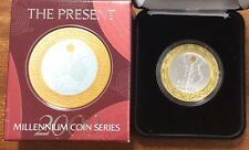 2000 $10 millennium coin series - The  present  silver proof coin