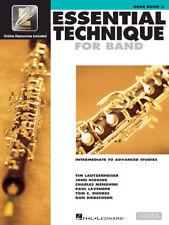Essential Technique For Band Intermediate to Advanced Studies (Oboe), 862618