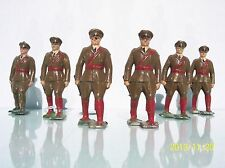 FRANCE LEAD (6) G.M. 72MM INFANTRY OFFICERS MARCHING EX