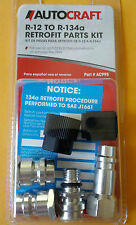 R-12 to R-134a Retrofit Parts Kit Conversion Adapter Valve Fitting . FIT ANY CAR