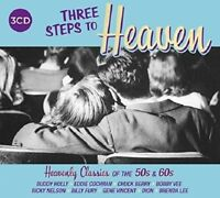 THREE STEPS TO HEAVEN CLASSICS 50'S & 60'S 3 CD NEW!