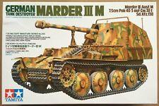 Tamiya 1/35 scale WW2 German Tank Destroyer Marder III M