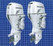 HONDA OUTBOARD ENGINE BF75D BF90D WORKSHOP SERVICE REPAIR & OWNERS MANUAL