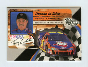 Terry Labonte 2002 02 Press Pass License To Drive Insert Card #LD19