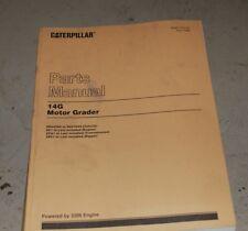Cat Caterpillar 14g Motor Grader Parts Manual Book 96u Catalog Spare Plow Road