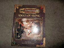 D&D D20 WOTC Races of Stone