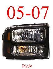 05 07 Super Duty Right Harley Davidson Head Light, F250 F350 Excursion FO2503224