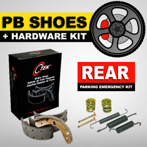 Parking Emergency Brake Shoe + Hardware Kit Fits Hyundai Tucson, Kia Sportage