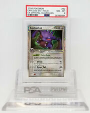 Pokemon EX CRYSTAL GUARDIANS EXPLOUD EX #92 HOLO FOIL PSA 8 MINT-NM #28385884