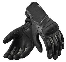 GUANTI MOTO GLOVES REV'IT STRIKER 2 NERO ARGENTO BLACK SUMMER TOURING TG L
