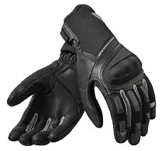 GUANTI MOTO GLOVES REV'IT STRIKER 2 NERO ARGENTO BLACK SUMMER TOURING TG S
