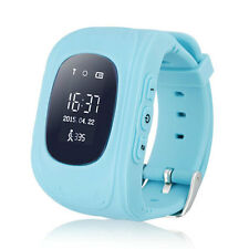 Q50 Children Smart GPS / LBS Positioning Watch SOS Safety Tracker Kid Blue