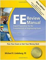 PPI FE Review Manual: Rapid Preparation for the Fundamentals of Engineering Exam