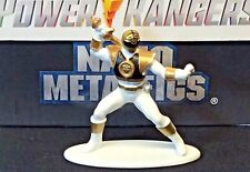 WHITE RANGER Mighty Morphin POWER RANGERS Jada Toys Nano Metalfigs TOMMY OLIVER