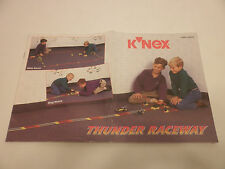 K'Nex Knex Thunder Raceway 12515 22515 Instructions