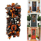 Halloween Fall Swag Wreath for Front Door Artificial Home Yard Hanging Decor US