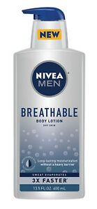 Nivea Men Breathable Body Lotion Dry Skin 13.5 Oz
