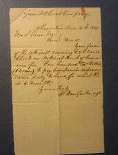 Old 1864 GREEN MOUNTAIN COAL CO. - SHAMOKIN PA. - LETTER - Document - MINING