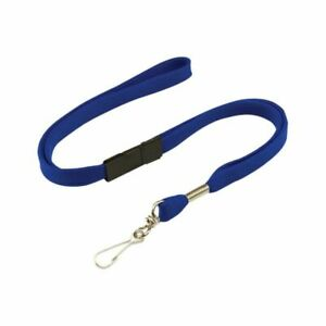 10 x blue lanyards. Security, medical, ID, opal card.