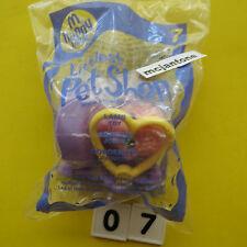 MIP McDonald's 2007 Littlest Pet Shop #7 PINK LAMB Ewe Sheep LPS CAKE TOPPER