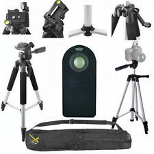 "LIGHTWEIGHT 57"" PHOTO TRIPOD + REMOTE FOR  SONY ALPHA RX1R A5000 A5100 A6100"