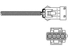 Delphi Rear Direct Fit Lambda Oxygen Sensor ES10795-12B1 - 5 YEAR WARRANTY