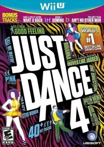 Just Dance 4 Nintendo Wii U Game