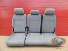 VW Caddy Sitz zweite Sitzreihe 2er Sitzbank Grau Bunt