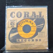 "Billy Williams - Don't Cry On My Shoulder / Shame, Shame 7"" Mint- 9-61730 Rare"
