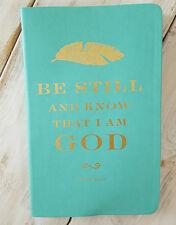 Blank Journal, PSALM 46:10 Prayer Scripture Inspiring Diary Christ Eccolo GIFT