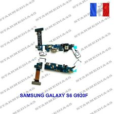 NAPPE DOCK CONNECTEUR CHARGE USB MIC JACK POUR SAMSUNG GALAXY S6 G920F (55)