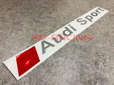 Audi Sport Windshield Decals Sticker A4 A5 S3 S4 S5 RS3 RS4 TT Free Shipping x 1