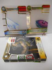 Redakai 20 Card Gold Pack Insert Set Super Rare Gold & Silver Conquer the Kairu