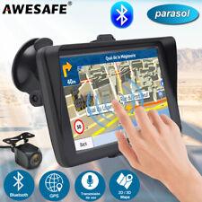 """7""""AWESAFE GPS Navegador Coche con parasol & cámara de marcha+8GB Europa mapa"""