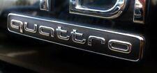 Embleme Insigne QUATTRO AUDI A4 S4 A5 S5 A6 S6 A7 S7 RS5 RS6 RS7 RS Q3
