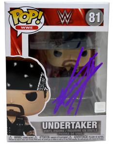 The Undertaker Autographed Signed Funko POP Figure 81 JSA Boneyard