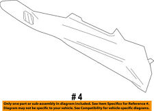 FORD OEM 11-15 Explorer Console-Side Trim Panel Right BB5Z7804608AB